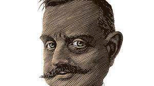 tecknad karikatyr av Jean Sibelius