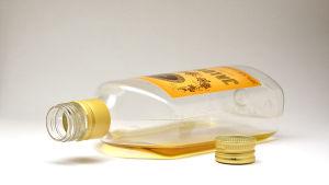 Jaloviina i en halvliters plastflaska.