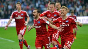 Hamburg firar mål