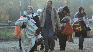Migranter i Serbien
