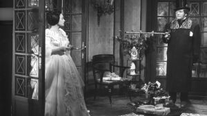 Martine Carol ja Peter Ustinov elokuvassa Skandaalikuningatar Lola Montes