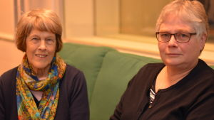 Märta Lönngren och Ann-Christine Werthmann.
