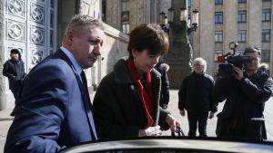 Nederländernas ambassadör Veronica Maria Jones-Bos hörde till de västdiplomater som kallades in till utrikesministeriet i Moskva