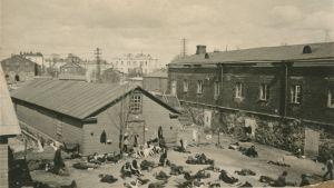 Fångar på Sveaborg 1918