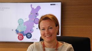Anu Ilvonen är kommunikationschef på Danske bank i Finland.