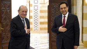 Libanons premiärminister Hassan Diab