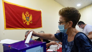 Valdeltagandet var rekordhögt trots pandemin för över 75 procent av de röstberättigade tog sig till vallokalerna.