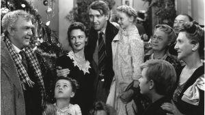 Bild ur den klassiska julfilmen It's a wonderful life.