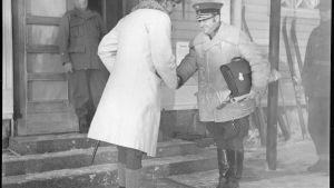 Kenraalit Linder ja Wallenius tapaavat Rovaniemellä