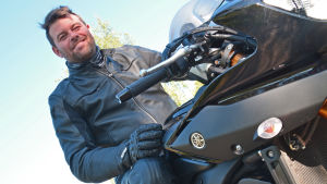 Motorcykelpolisen Staffan Söderström