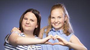 Distance Girls finalister i MGP 2018