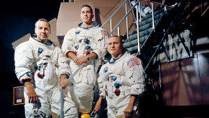 Apollo 8-besättningen.