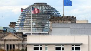 USA:s ambassad i Berlin den 28 oktober 2013