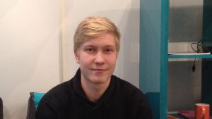 Matias Hertzberg deltar i debattfinalen 2015