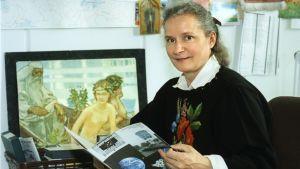 Kulturredaktör Lisa Hovinheimo