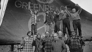 Greenpeaceaktivister på 1970-talet