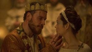 Michael Fassbender och Marion Cotillard som makarna Macbeth.