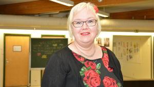 Katri Konttinen, rektor för Västra Nylands folkhögskola i Karis.