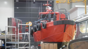 Kewatec i Karleby bygger bland annat lotsbåtar