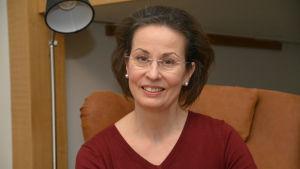 Heli Kronberg, mamma till Östnylands lucia 2017
