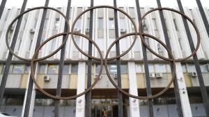 Rysslands olympiska kommittés huvudkontor i Moskva.