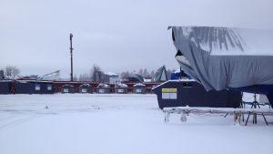 Det planeras bostadsmässa i Ingå och insamlingskärlen får flytta på sig då.