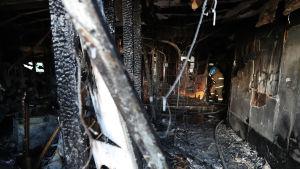 Branden tros ha börjat här på akuten i sjukhuset Sejong