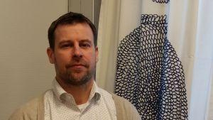 Tomi Valkeapää är tf. bildningsdirektör i Villmanstrand.