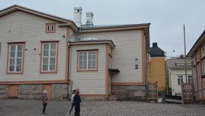 Byggnad 2 i Sirkkala skola.