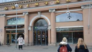 Ingången till Hansa från Eriksgatans sida.