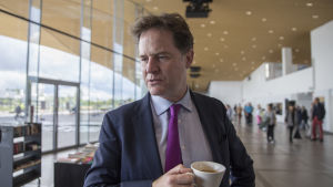 Nick Clegg on Facebookin Vice President