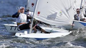 Kaarle Tapper slutade på 26:e plats i OS-regattan i Rio.