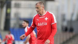 Njazi Kuqi spelar nu för HIFK.