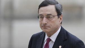 Blivande ECB-chefen Mario Draghi, maj 2011.