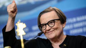 Agnieszka Holland under Berlinalefestivalen 2019.