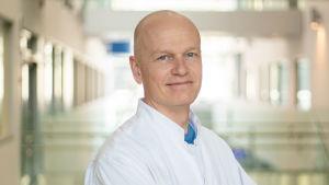 Stepani Bendel, anestesiologian ja tehohoidon yksikön johtaja, KYS