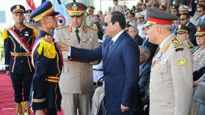 Egyptens president Abdle Fattah al-Sisi