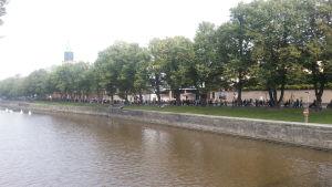 Prideparaden i Åbo.