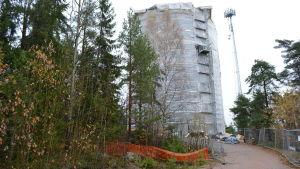 Hammars vattentorn renoveras