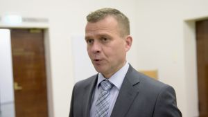 Inrikesminister Petteri Orpo (Saml) 30.6.2015.