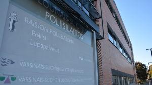 Polishuset i Reso hösten 2015