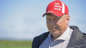 David Köping i Sundom har varit jordbrukare sedan 1994.