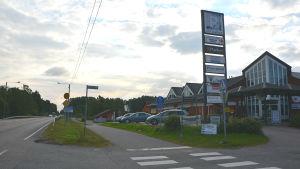 Östersundom köpcentrum i Helsingfors
