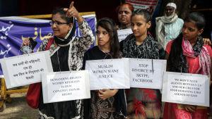 Sekulära muslimska aktivister i Bombay.