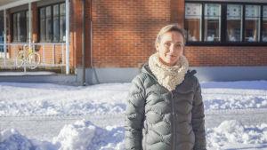 Veronica Lundqvist, ledande socialarebtare vid familjevårdsenheten i Kyrkslätt.