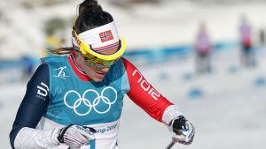 Heidi Weng, OS 2018.