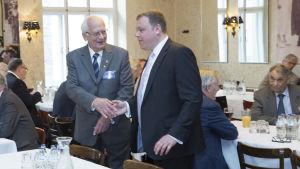 Bror Krause (till vänster) och Mikael Krogius (till höger).