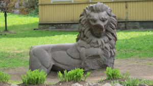 Finska lejonet i Monreposparketn