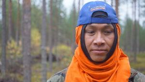 thailändsk bärplockare i Finland