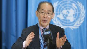 Hoesung Lee, ordförande för IPCC.